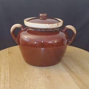 Vintage McCoy Bean Pot with lid